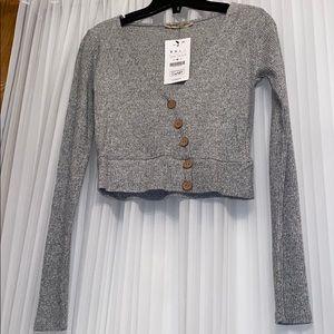 NEW Pull&Bear crop sweater